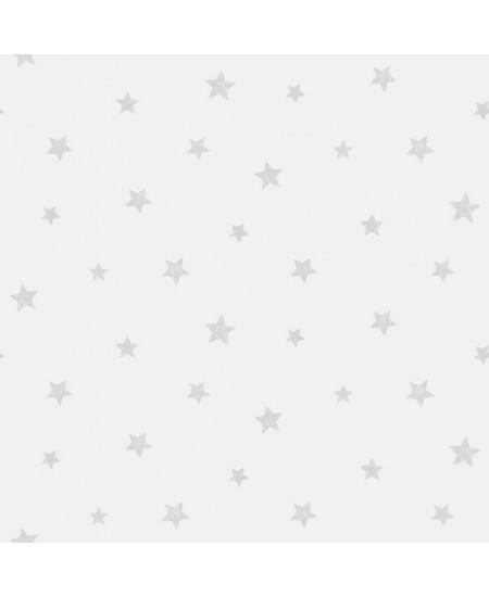 Tapetas Žvaigždutės PILKAS