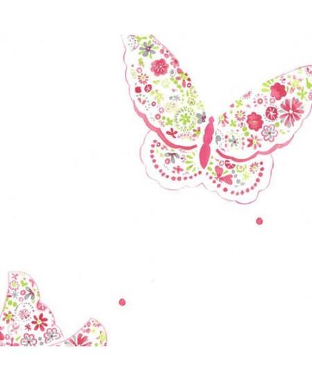 Tapetas drugeliai Rožinis