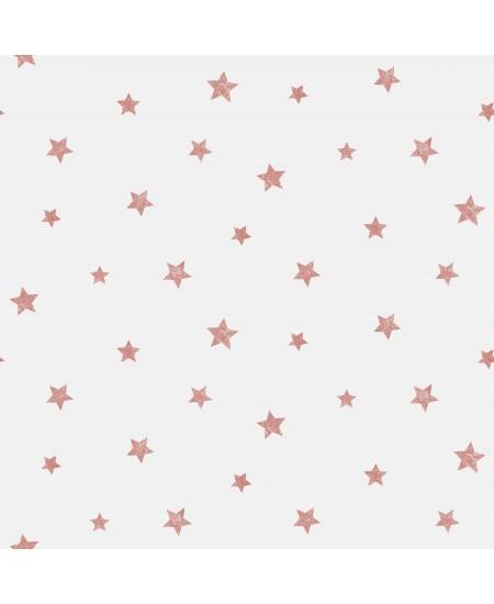 Tapetas Žvaigždutės RAUSVAS