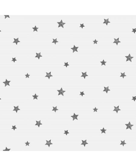 Tapetas Žvaigždutės JUODAS