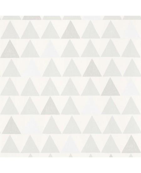Tapetas Trikampiai PILKAS