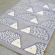 Vaikiškas kilimas Ežiukas PILKAS 90 x 150