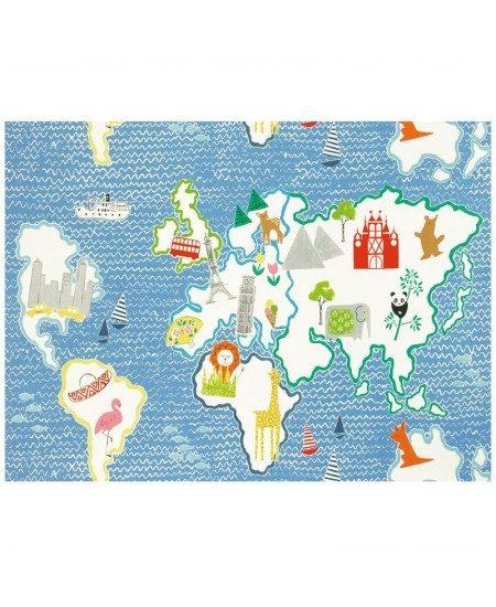 Audinys Aplink pasaulį. Mėlyna