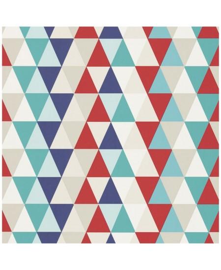Tapetas Kaleidoskopas. Mėlynas