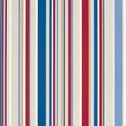 Ryškių spalvų dryžiai: mėlyna, melsva, raudona, smėlis
